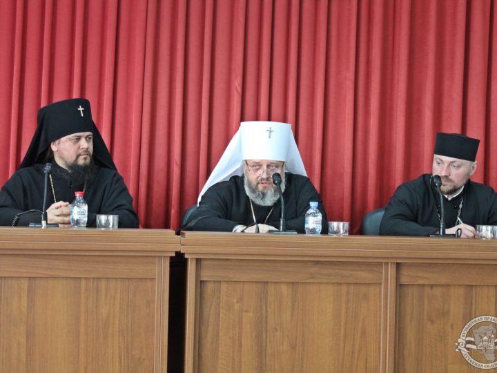В Кузбасскую митрополию прибыл архиепископ Биробиджанский и Кульдурский Ефрем