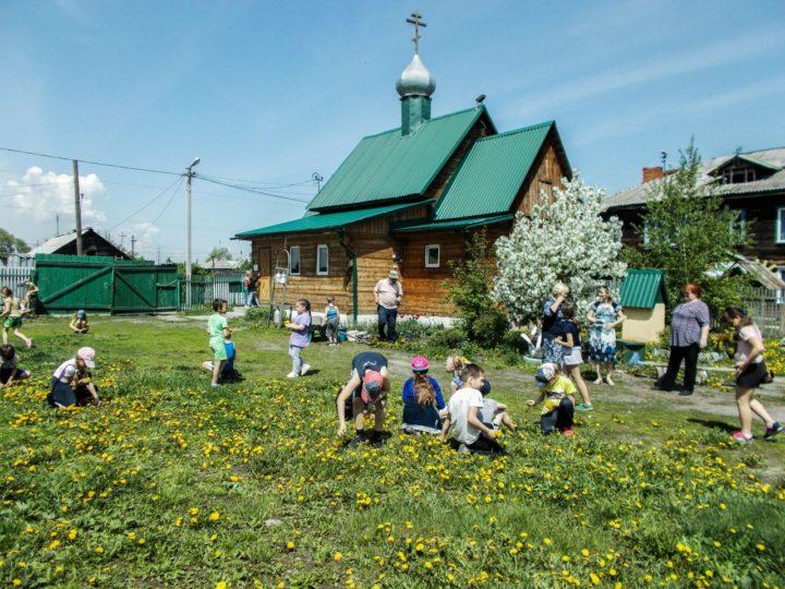 Учащиеся кемеровских школ посетили православный храм