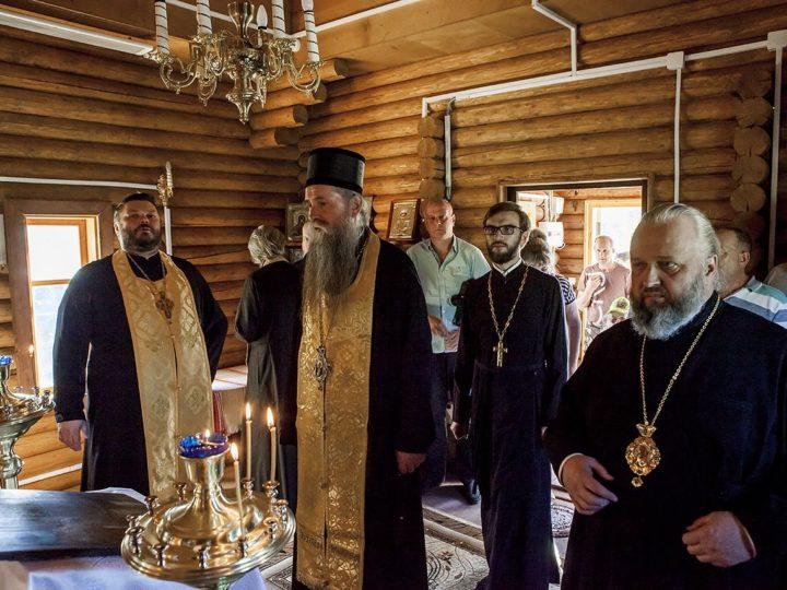 11-12 июня 2018 г. Посещение архиереями митрополии и гостями из Черногории Таштагольского района
