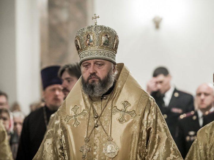 В день 300-летия с момента основания российской полиции митрополит совершил литию по погибшим сотрудникам МВД
