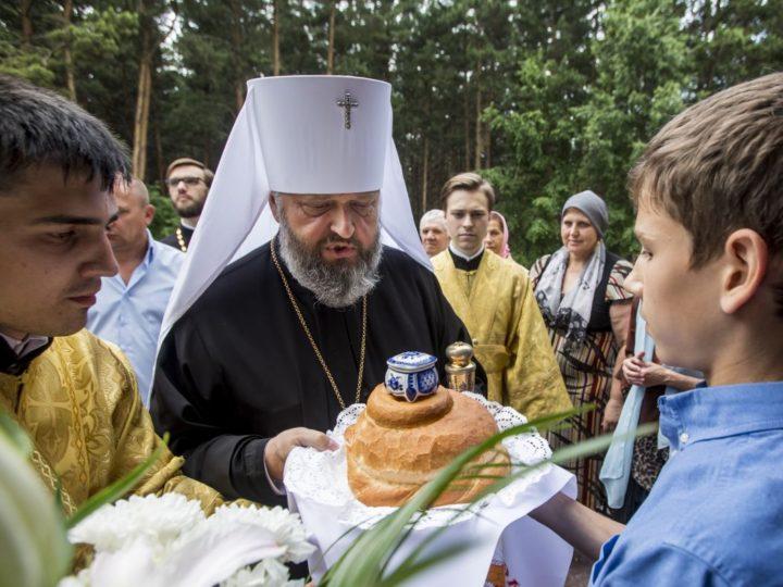 Митрополит Аристарх совершил Всенощное бдение в храме благоверного князя Александра Невского Киселевска