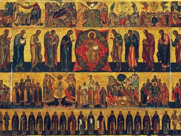 В неделю Всех святых митрополит Аристарх совершил Литургию в кафедральном соборе