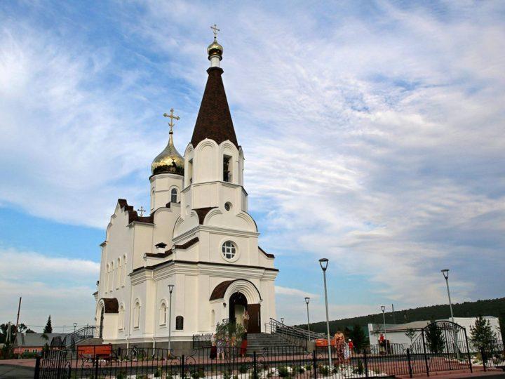 В селе Калачево Прокопьевского района освящен храм в честь равноапостольной княгини Ольги