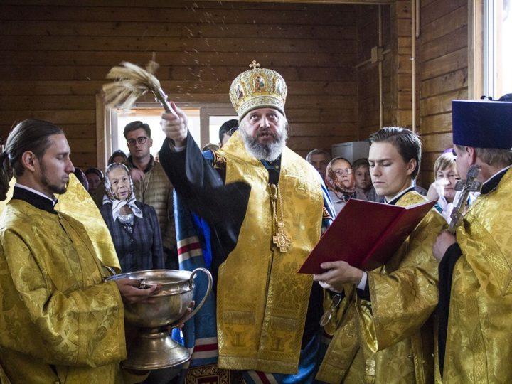 В День крещения Руси в Кемерове освятили храм святых равноапостольных Константина и Елены