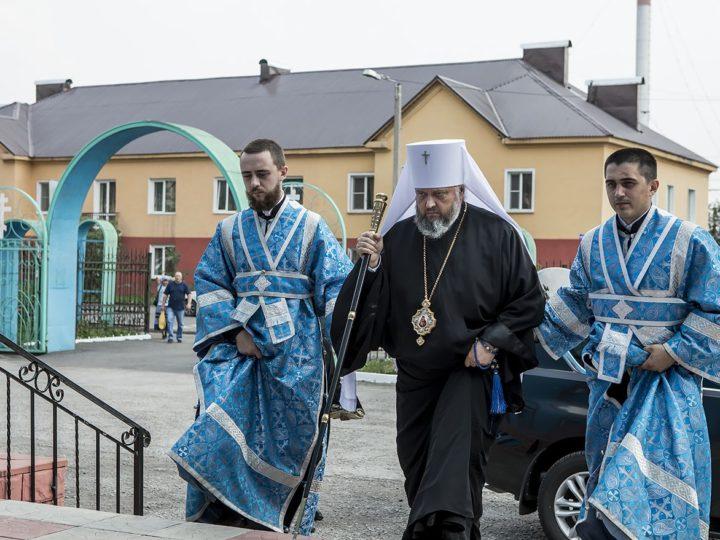 20 июля 2018 г. Всенощное бдение в канун престольного дня храма великомученика Прокопия в Прокопьевске