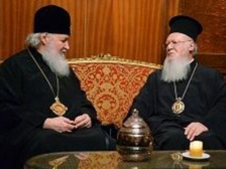 Состоится встреча Предстоятелей Константинопольской и Русской Православных Церквей