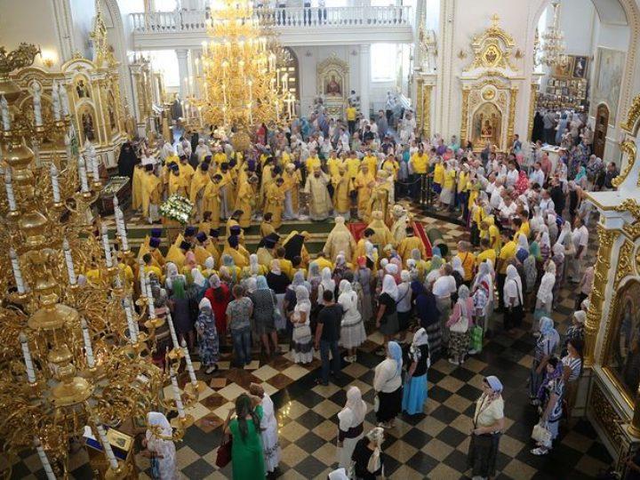 В Саранске прошли торжества по случаю дня памяти святого праведного воина Феодора Ушакова