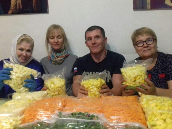 Отдел благотворительности и социального служения Кемеровской епархии продолжает реализацию проекта «Продуктовая помощь нуждающимся»