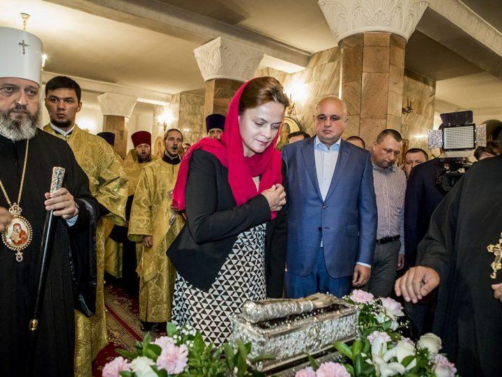 6 сентября 2018 г. Посещение Знаменского собора главой и представителями региональных властей