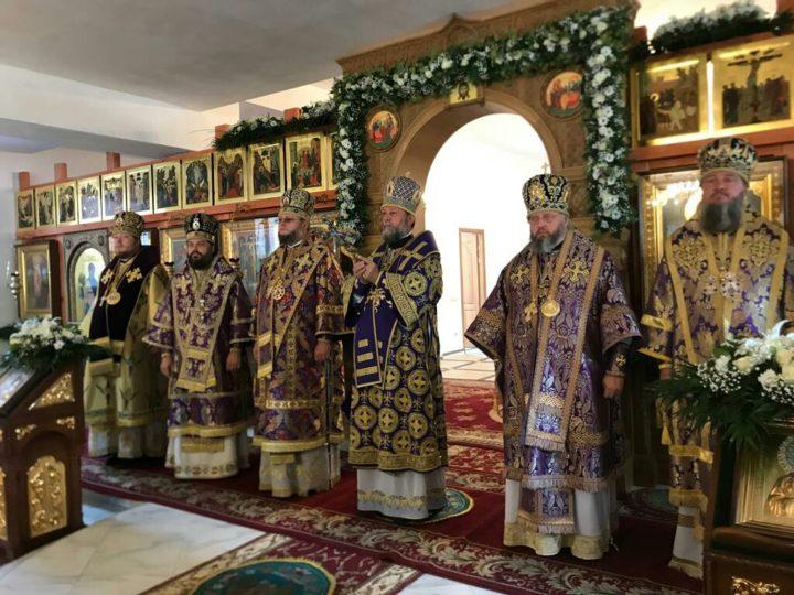В день Крестовоздвижения глава Кузбасской митрополии сослужил Предстоятелю Православной Церкви Молдовы