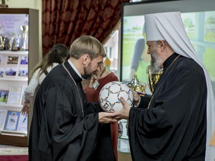 В Кемеровском епархиальном управлении состоялся праздник, посвящённый спорту