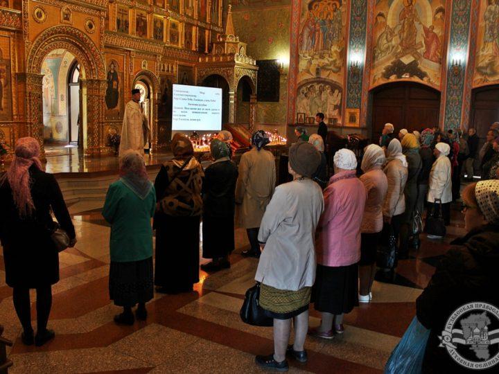 В соборе Рождества Христова в Неделю 18-ю по Пятидесятнице состоялась Божественная Литургия