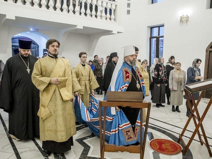 Глава Кузбасской митрополии благословил начало литургической жизни на приходе кемеровского храма