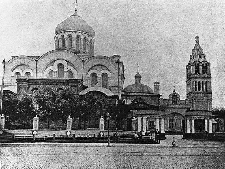 В домовом храме МГУ пройдёт выставка об уничтоженном Богоявленском соборе в Дорогомилове