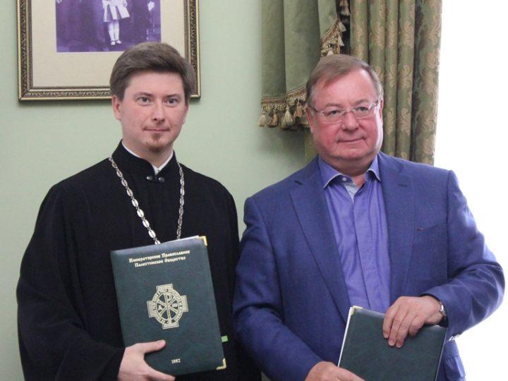 Подписано соглашение о сотрудничестве между Синодальным отделом по делам молодежи и Императорским православным палестинским обществом