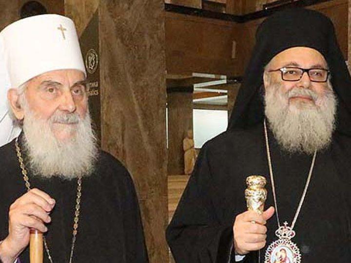 Антиохийский и Сербский Патриархи призвали Константинополь к диалогу с Русской Церковью при участии всех Поместных Православных Церквей