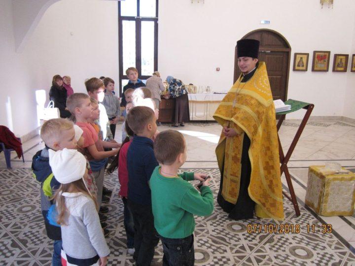 В кемеровском храме начала работать воскресная группа