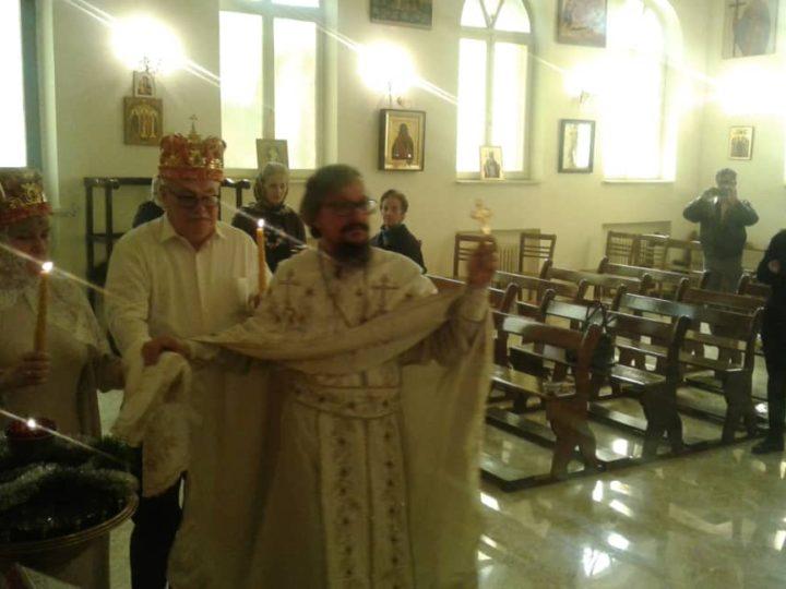 Первое за годы войны в Сирии венчание совершено в Представительстве РПЦ в Дамаске