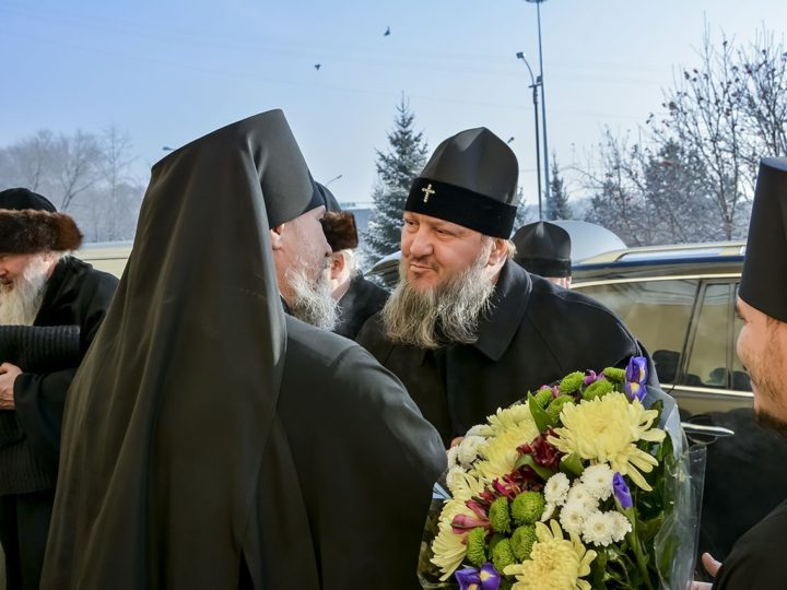 Главы Вятской, Кемеровской и Тираспольской епархий посетили кафедральный собор Новокузнецка и Кузбасскую духовную школу