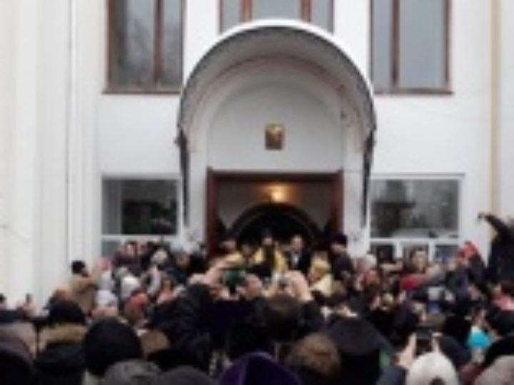 В Виннице состоялась торжественная встреча новоназначенного правящего архиерея Винницкой епархии архиепископа Варсонофия