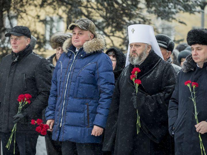 Священнослужители Кемеровской епархии почтили память героев-кузбассовцев, погибших в Великой Отечественной войне