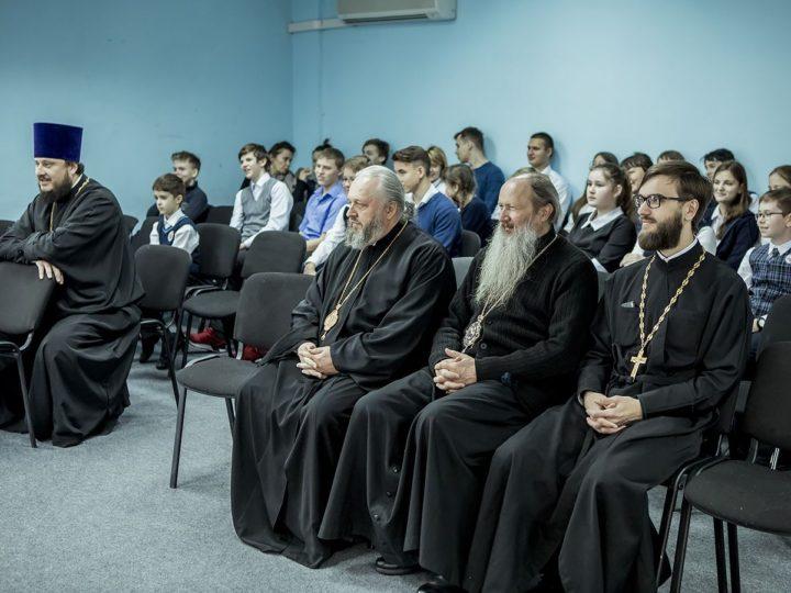 8 декабря 2018 г. Посещение гостями торжеств Православной гимназии в Кемерове