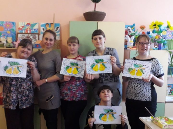 Волонтёры из православного клуба «Призвание» побывали в гостях у своих подопечных из Психоневрологического интерната