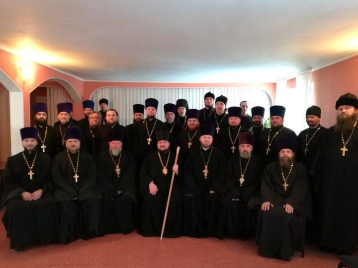 В Мариинской епархии прошло Епархиальное собрание
