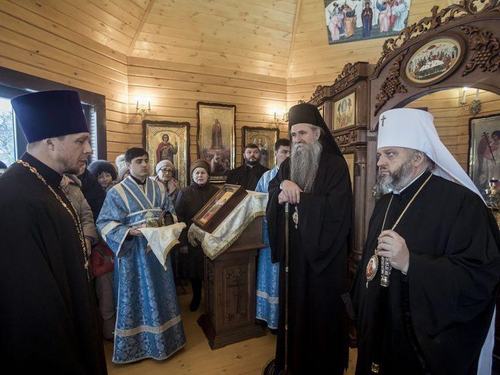 16 января 2019 г. Освящение храма иконы Божией Матери «Живоносный Источник» в Кемерове