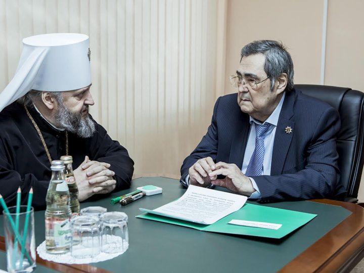 22 января 2019 г. Подписание соглашения о сотрудничестве Кемеровской епархии и Кузбасского регионального института развития профессионального образования