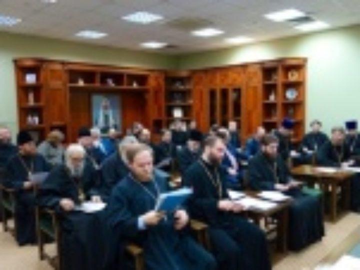 В Москве состоялось итоговое заседание оргкомитета по празднованию 10-летия Поместного Собора, на котором был избран Святейший Патриарх Кирилл