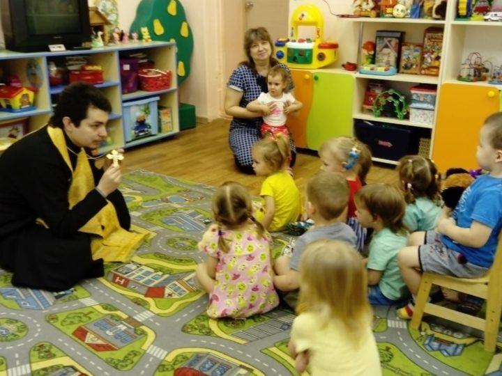 Воспитанникам дошкольного учреждения – о Крещении Господнем