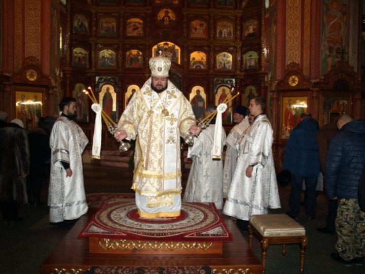 Малые именины отметил второй кафедральный собор Мариинской епархии
