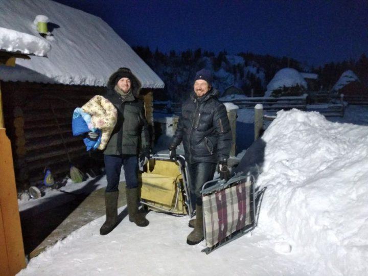 Сотрудники Миссионерского отдела Новокузнецкой епархии побывали в отдалённых посёлках Таштагольского района