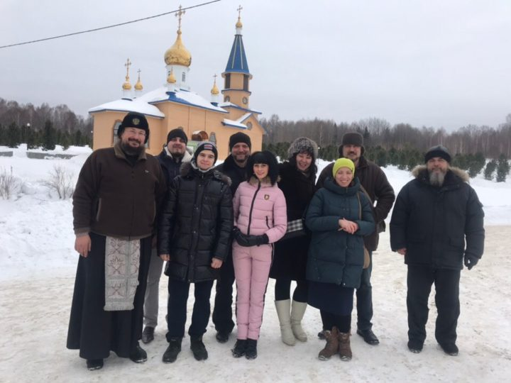 Активисты православного молодёжного движения Белова совершили паломничество по святым местам Гурьевского района