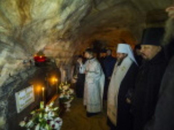 В Псково-Печерском монастыре в 13-ю годовщину кончины архимандрита Иоанна (Крестьянкина) почтили память приснопоминаемого старца