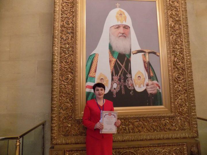В храме Христа Спасителя в Москве наградили педагогов из Кузбасса — финалистов конкурса «За нравственный подвиг учителя»