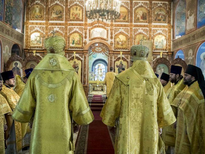 7 февраля 2019 г. Тезоименитство Преосвященнейшего Владимира, епископа Новокузнецкого и Таштагольского