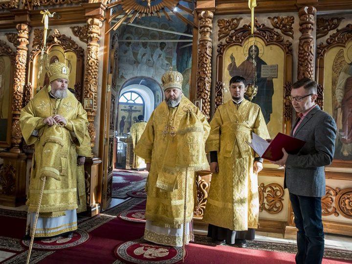 Епископ Новокузнецкий и Таштагольский Владимир встретил день тезоименитства