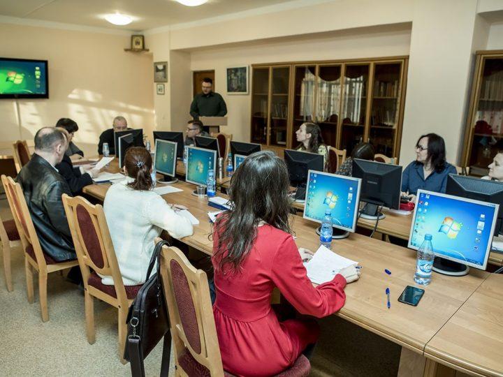 8 февраля 2019 г. студенты специальности «Теология» защитили дипломные работы