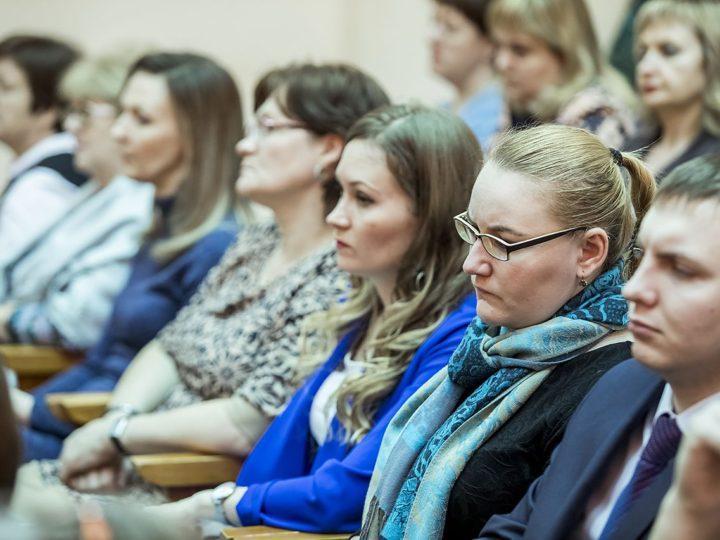 19 февраля 2019 г.: митрополит Аристарх прочитал лекцию в Кузбасском региональном институте развития профессионального образования