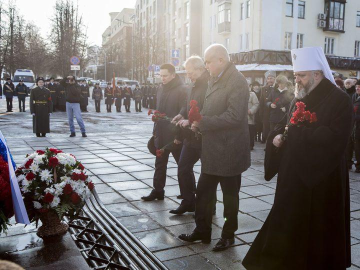 Священнослужители Кемеровской епархии почтили память героев-кузбассовцев, погибших в годы Великой Отечественной войны