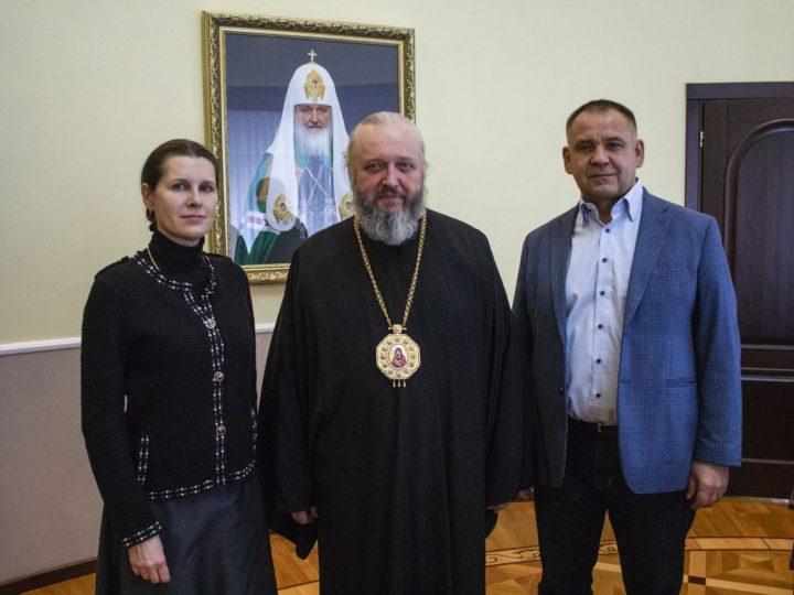 Светлана Копылова встретилась с главой Кузбасской митрополии