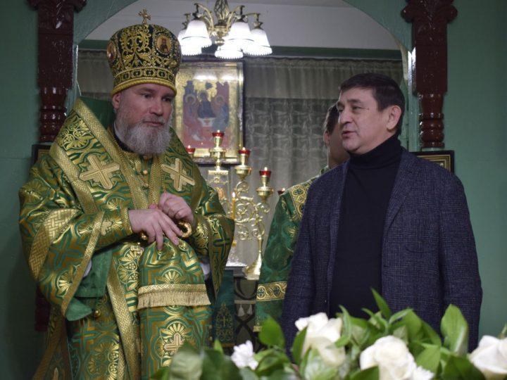 Престольный праздник отметил храм во имя святой блаженной Ксении Петербургской в Новокузнецке