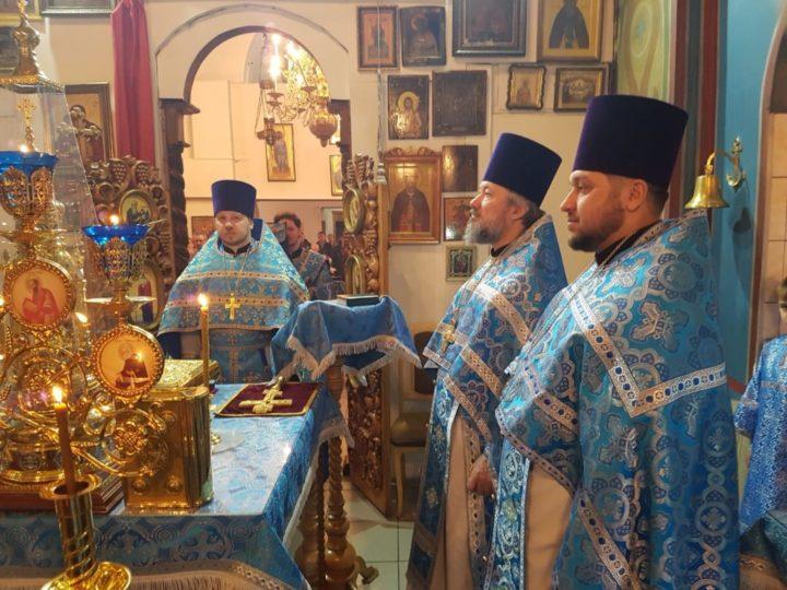 В храме в честь иконы Божией Матери «Утоли моя печали» Кемерова прошло престольное торжество