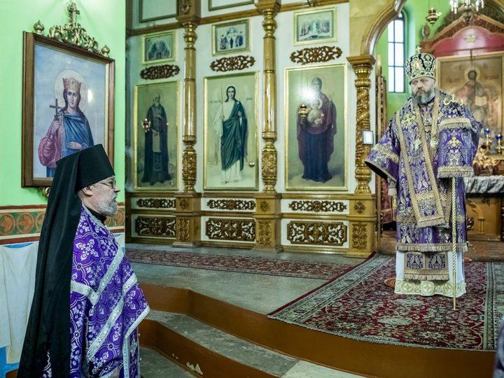 16 марта 2019 г. Божественная литургия в субботу Первой седмицы поста в храме Иверской иконы Божией Матери в Кедровке