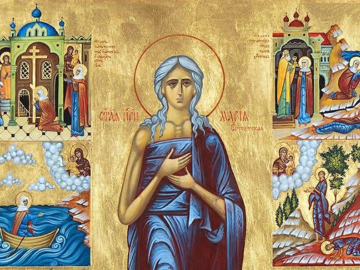 В пятое воскресенье Великого поста митрополит Аристарх совершил богослужения в Знаменском соборе