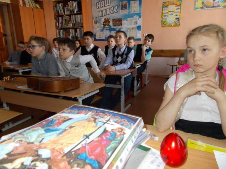 Школьникам Кемерова рассказали о Страстной седмице