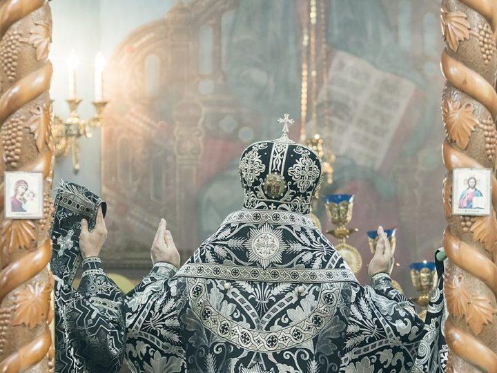 24 апреля 2019 г. Литургия Преждеосвященных Даров в Великую Среду в храме иконы Божией Матери «Утоли моя печали» Кемерова
