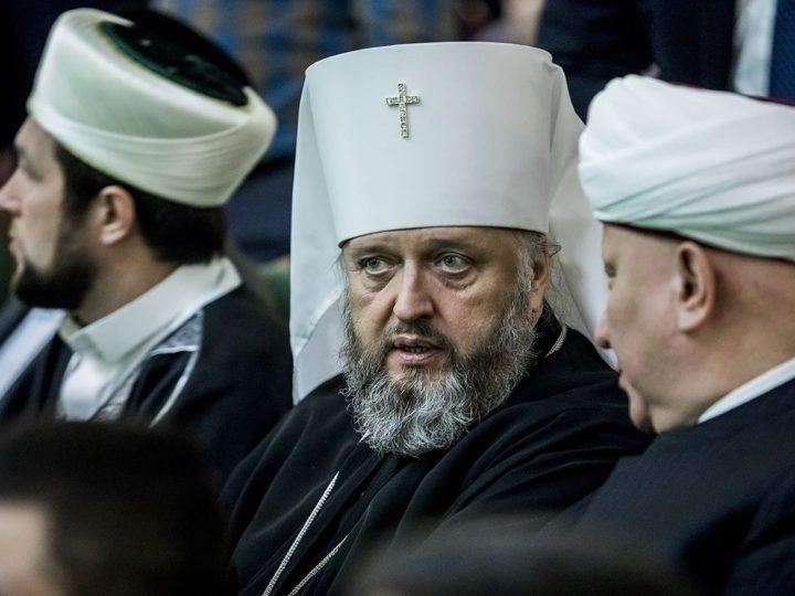 Митрополит Аристарх поздравил с десятилетием Духовное управление мусульман Кемеровской области